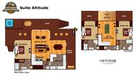 UNIT LAYOUT at SUITE ALTITUDE in Sevier County TN