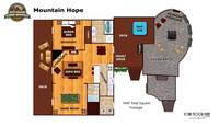 UNIT LAYOUT at MOUNTAIN HOPE in Pigeon Forge TN