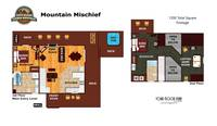 UNIT LAYOUT at MOUNTAIN MISCHIEF in Sevier County TN