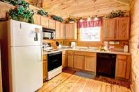 KITCHEN at A SPECIAL PLACE in Sevier County TN