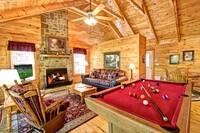 LIVING AREA at A SPECIAL PLACE in Sevier County TN