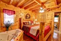 BEDROOM at ALMOST PARADISE in Sevier County TN