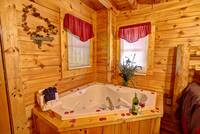 JACUZZI at ALMOST PARADISE in Sevier County TN