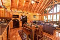 KITCHEN & DINING  at TRANQUIL MOMENTS in Sevier County TN