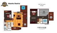 UNIT LAYOUT at XHEART'S DESIRE in Sevier County TN