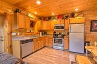 KITCHEN at ABOVE THE REST in Sevier County TN