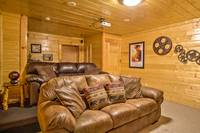 HOME THEATER at ABOVE THE REST in Sevier County TN