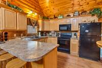 KITCHEN at SWEET RETREAT in Sevier County TN