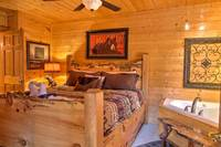 BEDROOM 1 at ABOVE THE REST in Sevier County TN