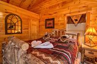 BEDROOM 2 at ABOVE THE REST in Sevier County TN