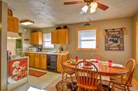 KITCHEN & DINING at MOUNTAIN JOY in Sevier County TN