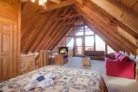 BEDROOM 3 (LOFT) at TOP NOTCH in Sevier County TN