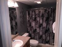 BATHROOM at CEDAR LODGE 205 in Pigeon Forge TN