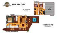 UNIT LAYOUT at BEAR LEE FLYIN in Sevier County TN