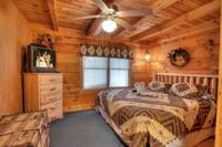 BEDROOM 1 at MULBERRY PLACE in Sevier County TN