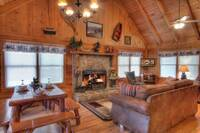 LIVING AREA at MULBERRY PLACE in Sevier County TN
