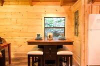 DINING AREA at A MARY CABIN in Sevier County TN