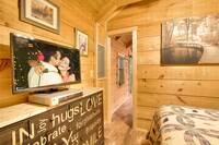 BEDROOM at A MARY CABIN in Sevier County TN
