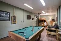 GAME ROOM (DOWNSTAIRS) at MOUNTAIN TREASURE in Sevier County TN