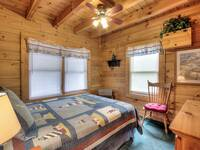 BEDROOM 2 (MAIN LEVEL) at GRINNIN BEARS in Pigeon Forge TN