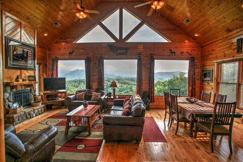 CADES COVE VISTA LODGE 1 Bedroom Cabin Rental