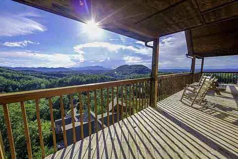 HEAVEN'S CORNER 7 Bedroom Cabin Rental