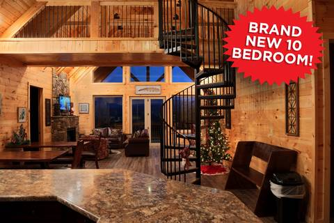 Find A Large Cabin Rental In Gatlinburg Amp Pigeon Forge Tn