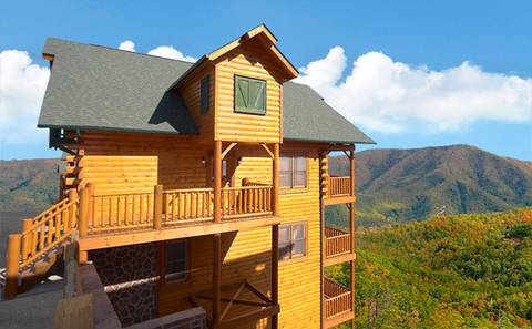 Find a Large Cabin Rental in Gatlinburg & Pigeon Forge, TN