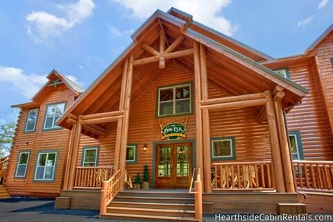 THE BIG ELK LODGE-BRAND NEW 16 Bedroom Cabin Rental