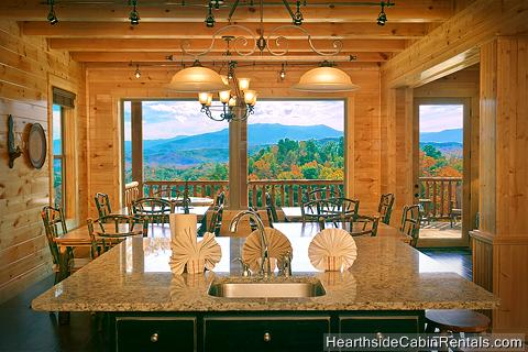 12 Bedroom, Sleeps 56, GRAND VIEW LODGE by Large Cabin Rentals