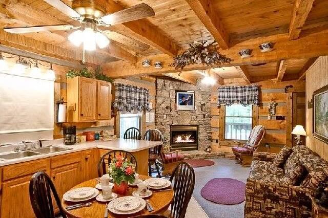 A Cozy Den living area