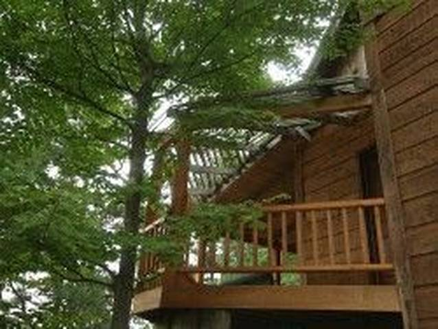 Pigeon Forge Honeymoon_Above the Rest_Deck with a View