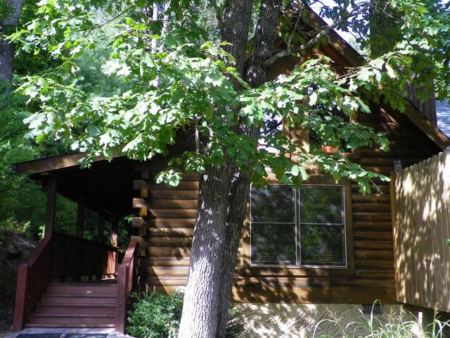 Gatlinburg Cabin Rentals_Apple Jack Hollow_Cabin Front 1