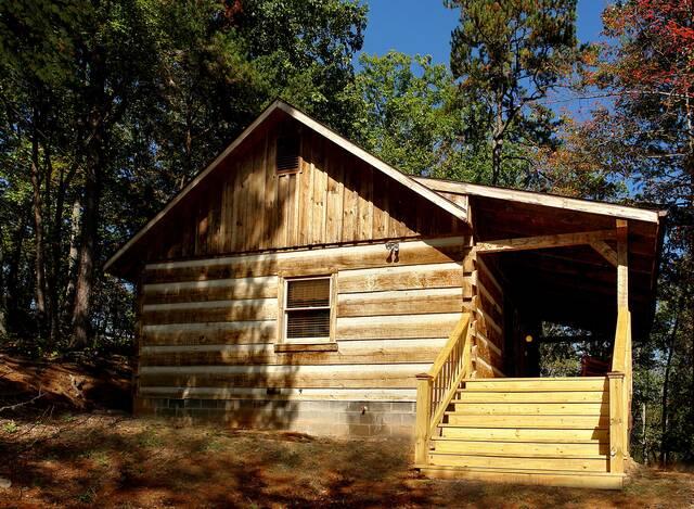 Bear Necessities honeymoon cabin