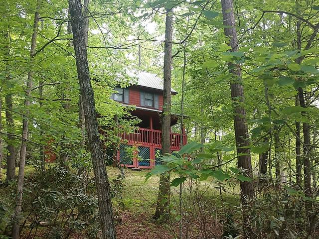 Nestled in the Woods on a Smokey Mountain Top