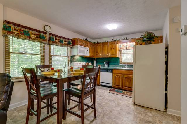 Spacious dining and kitchen