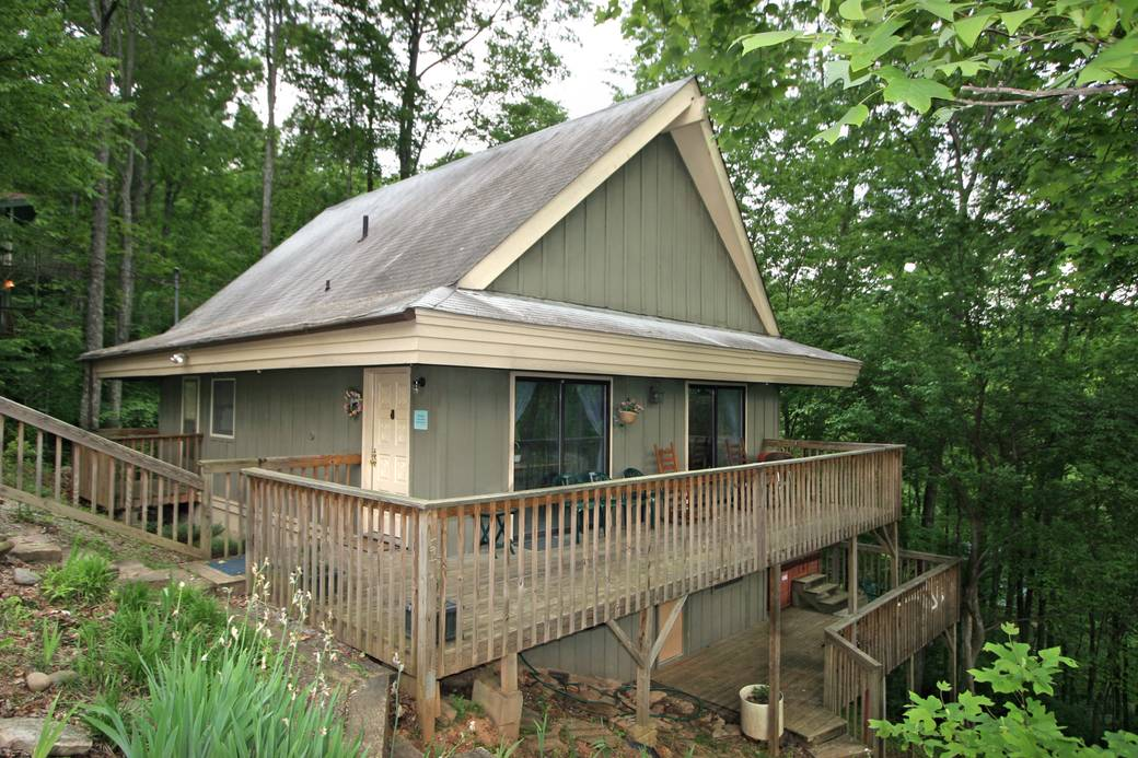 cabin gatlinburg in rent cabins parkside to dogwood rentals tn pet friendly for