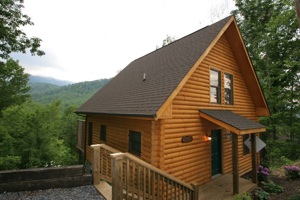 Mountain paradise 1 bedroom cabin rental in gatlinburg for One bedroom cabins in gatlinburg