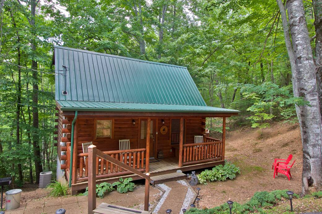 EXTERIOR EXTERIOR. One Bedroom Gatlinburg Cabin Rentals in Tennessee