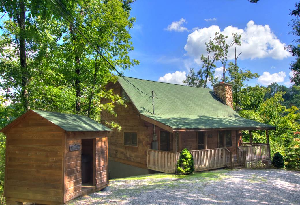 EXTERIOR EXTERIOR. All Gatlinburg Cabin Rentals and Pigeon Forge Cabins