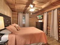BEDROOM 1 at KATHYS KABIN in Sevier County TN
