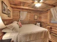 BEDROOM 2 at KATHYS KABIN in Sevier County TN