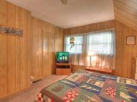 BEDROOM 2 (UPSTAIRS) at A PIECE OF PARADISE in Gatlinburg TN