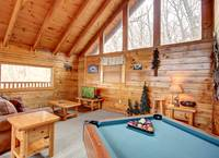POOL TABLE / LOFT at GOT MOOSE in Sevier County TN