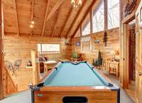 POOL TABLE at GOT MOOSE in Sevier County TN