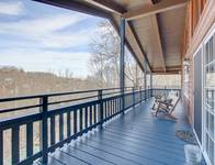 DECK UPPER LEVEL at SMOKEY MTN PARADISE in Gatlinburg TN
