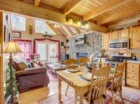 KITCHEN / DINING  at BLACK BEAR HOLLER in Gatlinburg TN