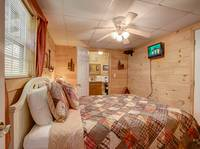 BEDROOM 2 (MAIN LEVEL) at BLACK BEAR HOLLER in Gatlinburg TN