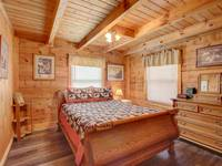 BEDROOM 1 (MAIN LEVEL) at HOME SWEET HOME in Sevier County TN