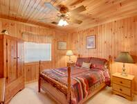 BEDROOM 3 (LOWER LEVEL) at HOME SWEET HOME in Sevier County TN